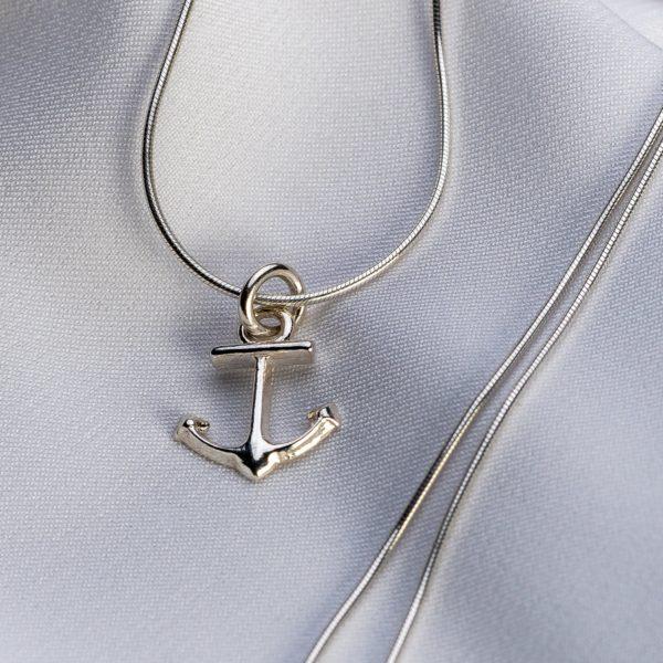 """Lantisor snake """"Ancora"""" din argint 925 personalizat - Armilla Sliver - Unește cupluri"""