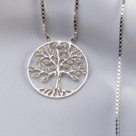"""Lantisor """"Copacul Vietii"""" din argint 925 - Armilla Sliver - Unește cupluri"""