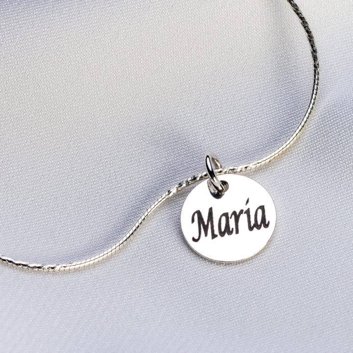 "Bratara ""Small Snake"" din argint 925 personalizata - Armilla Sliver - Unește cupluri"